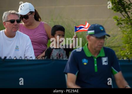 Cincinnati, USA. August 11, 2018 - Ambiance at the 2018 Western & Southern Open WTA Premier 5 tennis tournament. Cincinnati, USA, August 11, 2018 Credit: AFP7/ZUMA Wire/Alamy Live News - Stock Photo