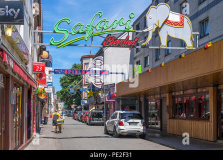 germany hamburg st pauli reeperbahn clubs stock photo 78836363 alamy. Black Bedroom Furniture Sets. Home Design Ideas