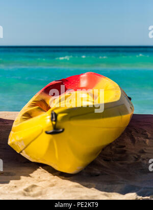 A typical view in Varadero in Cuba - Stock Photo