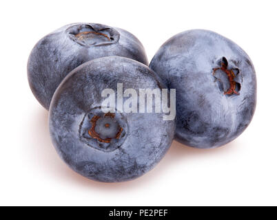 blueberry path isolated - Stock Photo