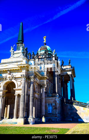 The StudentInnenkeller building on the grounds of the Neues Palais of Frederick the Great in Potsdam, Germany - Stock Photo