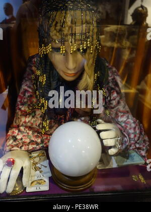 fortune telling gypsy - Stock Photo