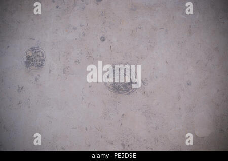 pale marble texture with gray circles with vignette. background, decoration. - Stock Photo