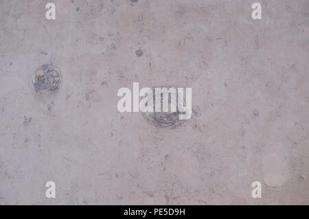 pale marble texture with gray circles. background, decoration. - Stock Photo