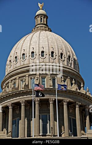Idaho State Capitol in Boise - Stock Photo