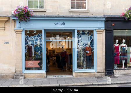 Seasalt Cornwall - Women's clothing store in Bath, England - Stock Photo