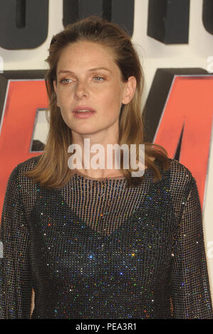The UK Premiere of 'Mission: Impossible – Fallout' held at the BFI IMAX - Arrivals  Featuring: Rebecca Ferguson Where: London, United Kingdom When: 13 Jul 2018 Credit: WENN.com - Stock Photo