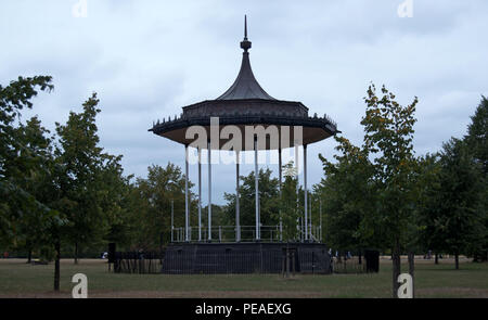 Kensington Gardens Bandstand, Kensington, London - Stock Photo