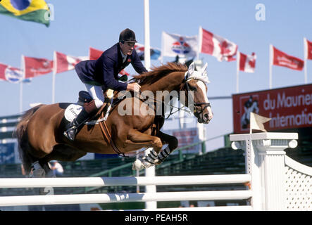 CSIO Masters, Spruce Meadows, September 1993 - Stock Photo