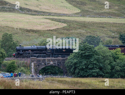 Dent Railway Station on the LMS line through Pennines