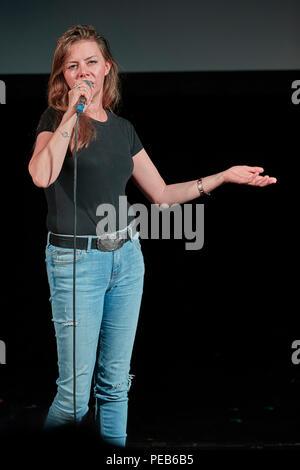 Edinburgh, UK. 13th August 2018. Edinburgh Pleasance Newcomer Comedy Gala 2018 Credit: Andrew Eaton/Alamy Live News. - Stock Photo