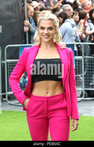London, UK. 13th August, 2018. Laura Crane, The Festival - World Premiere, Leicester Square, London, UK, 13 August 2018, Photo by Richard Goldschmidt Credit: Rich Gold/Alamy Live News - Stock Photo