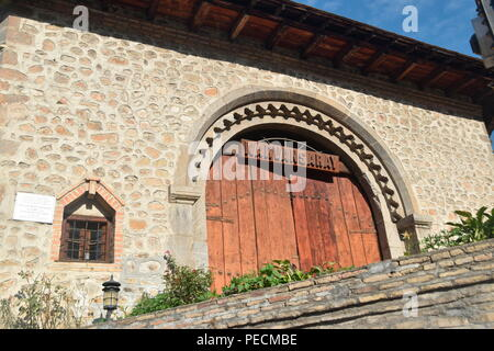 Gate Karvansarai, Sheki, Azerbaijan - Stock Photo