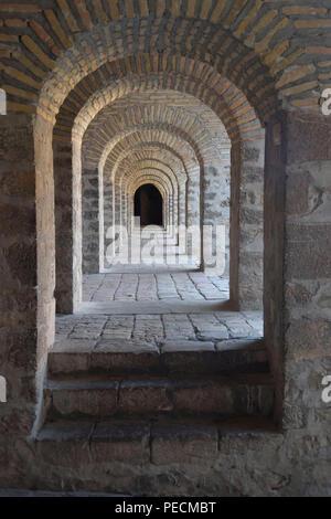 Archway, Karvansarai, Sheki, Azerbaijan - Stock Photo