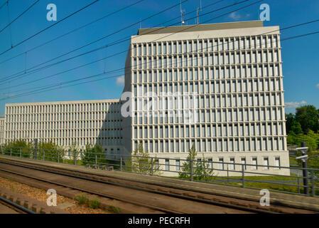 Bundesministerium des Innern, Alt-Moabit, Moabit, Berlin, Deutschland - Stock Photo