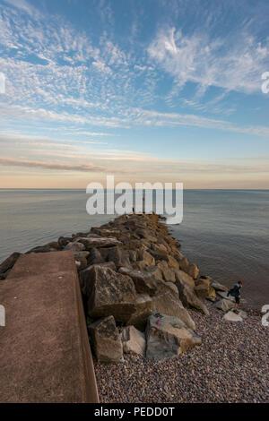 Sea Front, Sidmouth, Devon. UK - Stock Photo