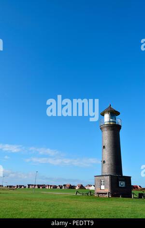 Memmert Beacon, Juist, National Park Wadden Sea, Lower Saxony, East Frisian Island, Germany - Stock Photo