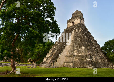 Tikal National Park, Guatemala - Stock Photo