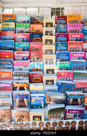 guide books in various languages - Stock Photo