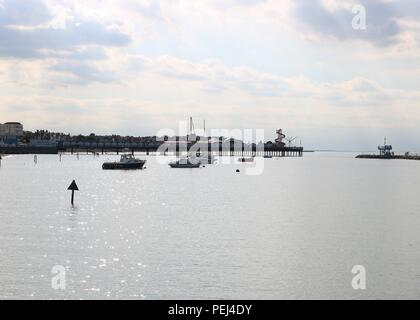 Herne Bay , Kent - Stock Photo