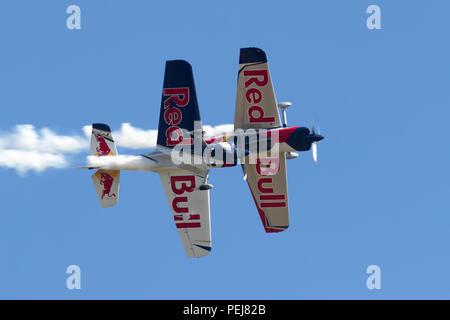 Aerobatic aircraft - Stock Photo