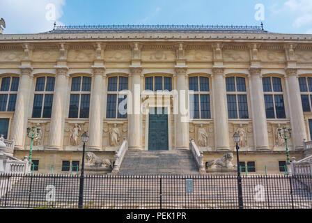 Palais de Justice, court house, Ile de la Cite, Paris, France - Stock Photo