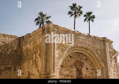 Ruins at Mission San Juan Capistrano - Stock Photo