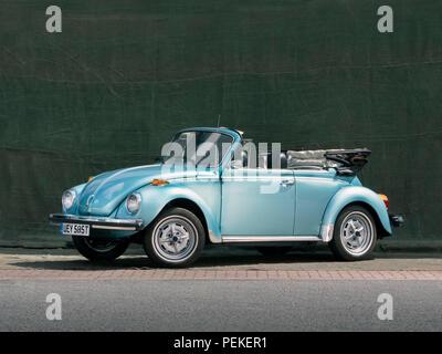 1979 VW Beetle convertible - Stock Photo