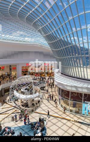 Interior of Chadstone Shopping Centre - Stock Photo