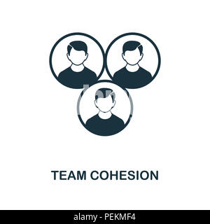 Team Cohesion creative icon. Simple element illustration. Team Cohesion concept symbol design from project management collection. Can be used for mobi - Stock Photo