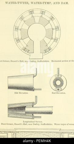 Historic archive Image taken from page 389 of 'Metallurgy. The art of extracting metals from their ores, and adapting them to various purposes of manufacture, etc' Stock Photo