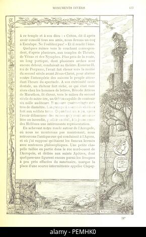Historic archive Image taken from page 447 of 'Notre Voyage aux pays bibliques' - Stock Photo