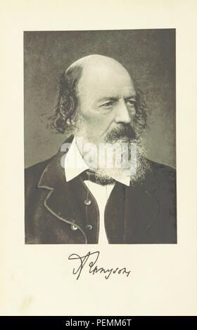 page 10 of 'The Poetic and Dramatic Works of Alfred Lord Tennyson. Cambridge edition. (Edited by W. J. Rolfe.)' - Stock Photo