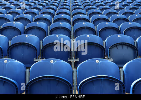 General view of the empty seats ahead of Glamorgan vs Essex Eagles, NatWest T20 Blast Cricket at the SSE SWALEC Stadium on 23rd July 2017 - Stock Photo