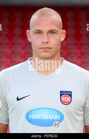 2nd German Bundesliga - Photocall FC Heidenheim - Season 2018/19 on 16 July 2018 in Heidenheim, Germany: Matthias Koebbing. | usage worldwide - Stock Photo