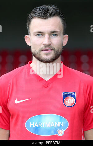 2nd German Bundesliga - Photocall FC Heidenheim - Season 2018/19 on 16 July 2018 in Heidenheim, Germany: Denis Thomalla. | usage worldwide - Stock Photo