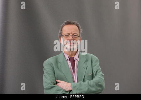 Edinburgh, Scotland. UK. 17 August 2018. Edinburgh International Book Festival. Pictured: Gilbert  Markus . Pako Mera/Alamy Live News. - Stock Photo