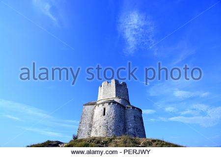 16.08.2018. The Church of St Nicholas in Nin,Croatia - Stock Photo