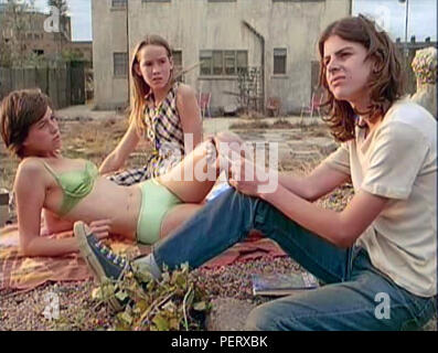 THE CEMENT GARDEN 1993 BBC film with from left: Alice Coulthard, Charlotte Gainsbourg, Andrew Robertson - Stock Photo