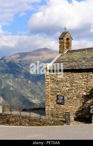 Coll de la Gallina, Sant Julia de Loria, Andorra - Stock Photo