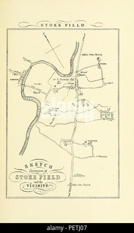 Historic archive Image taken from page 49 of 'Bygone Nottinghamshire' - Stock Photo