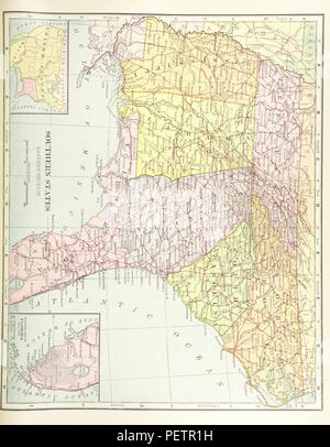 Historic archive Image taken from page 151 of 'Advanced Geography' - Stock Photo