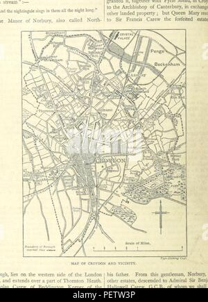 Historic archive Image taken from page 204 of 'Greater London ... Illustrated' - Stock Photo