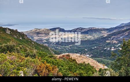 Corsica landscapes France Europe