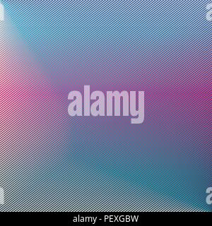 Pink line abstract background with hot pink and blue gradient - Stock Photo