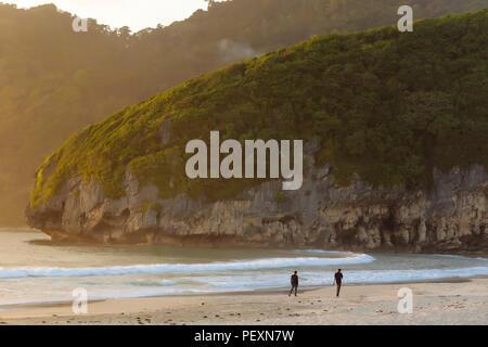 Beach and mountains, Banda Aceh, Sumatra, Indonesia - Stock Photo