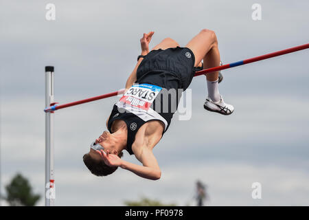 Birmingham, UK. 18th August 2018. during 2018 IAAF Diamond League - Birmingham at Alexander Stadium on Saturday, 18 August 2018. BIRMINGHAM, ENGLAND. Credit: Taka G Wu Credit: Taka Wu/Alamy Live News - Stock Photo