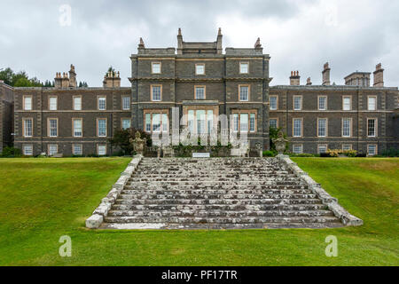 Bowhill House at Bowhill near Selkirk Scottish Borders Scotland UK - Stock Photo