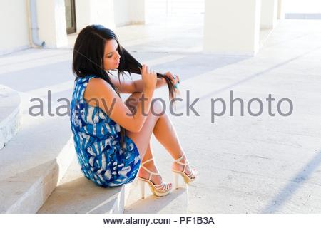 Attractive young woman - Stock Photo