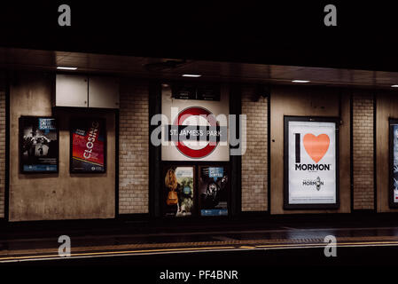 Silence on the underground - Stock Photo